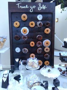 Pared de donas