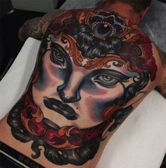 Emily Rose Murray Tattoos Have Sophistication & Elegance Of Another Era Witchcraft Tattoos, Dope Tattoos, Awesome Tattoos, Emily Rose, Mobile Art, Back Pieces, Traditional Tattoo, Tattoo Artists, Body Art