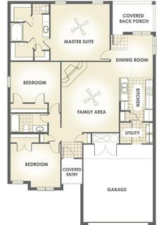 Mary Alice  1,610 Square Feet, Three Bedrooms, Two Bathrooms · My HouseSquare  FeetFloor PlansAliceSquaresMary