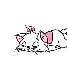 Animated gif about cute in Disney (Gif) by GLen =^● 。●^= Disney And More, Disney Love, Disney Magic, Disney Cats, Disney Cartoons, Gata Marie, Disney Princess Pictures, Image Fun, Disney Fan Art