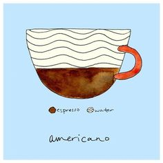 I've never actually had just an Americano.  I always get lattes but I want one!