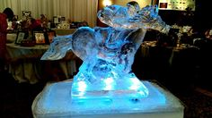 Horse and Jockey ice sculpture for the Kentucky Derby. Kentuky Derby, Big Horses, Ice Sculptures, Creative Design, Special Events, Kentucky, Pride