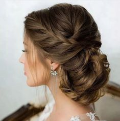New hair wedding updo side french braids Ideas Wedding Hairstyles For Long Hair, Bride Hairstyles, Short Hairstyles, Updo Hairstyle, Short Haircuts, Drawing Hairstyles, Perfect Hairstyle, Teenage Hairstyles, Gorgeous Hairstyles