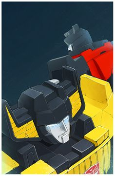Sideswipe, Sunstreaker by loneold.deviantart.com on @deviantART