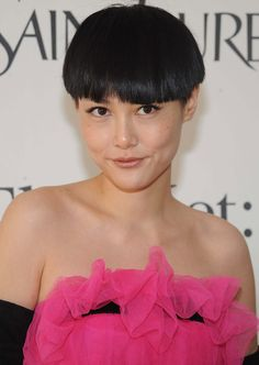 Asian Hair Styles - Short Rounded and Textured Bob