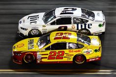 Penske Racing w 'Bad Brad' Keselowski&Joey Logano *FORD'S NEW SUPER TEAM IN NASCAR