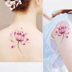 Bela Lotus Tatuagens na Manga ou de Volta para Meninas