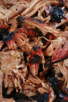 16 hour slow smoked pulled pork BBQ in Grande Prairie AlbertaNutmeg Disrupted Traeger Recipes, Grilling Recipes, Pork Recipes, Cooker Recipes, Recipies, Barbecue Recipes, Oven Recipes, Slow Cooking, Smoker Cooking