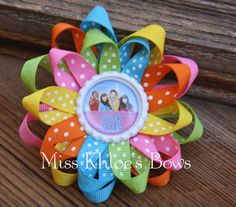 Fresh Beat Band Bow and Headband    Misskhloesbows.com