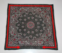 Bandanas with Edges Sewn Together for Pillow Pocket Squares, Red Bandana, Bandana Ideas, Bandanas, Almost Perfect, Nordstrom Anniversary Sale, Craft Stores, Diy Projects, Textiles