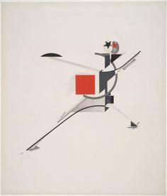 El Lissitzky '10. New Man', 1923