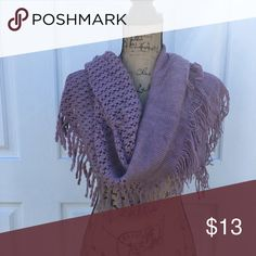 Purple Infinity Scarf Brand New - 100% polyester Accessories Scarves & Wraps