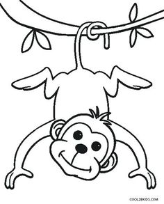 free printable monkey coloring pages for kids monkey coloring page monkey coloring pictures to print