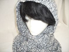 Charcoal  Infinity Cowl by MarieHolmanDesigns on Etsy