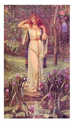 "Danu : Mother Goddess and Earth Goddess.   Alternate names: Ana, Anu, Anann (""wealth, abundance"").    Danu is the oldest Celtic Goddess, known also as Don and Anu. Her influence spread far across the British Isles and Europe."