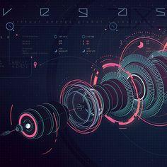 """다음 @Behance 프로젝트 확인: """"VEGAS Virtual interface"""" https://www.behance.net/gallery/33152259/VEGAS-Virtual-interface"""