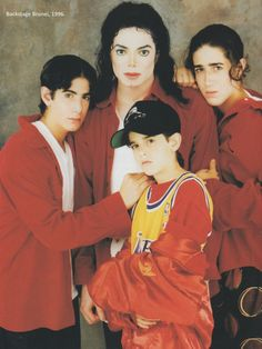 Michael Jackson Exclusive Very Rare Foto/Photo CASCIO FAMILY