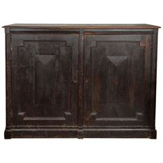 19th Century English Country Manor Linen Cabinet | From a unique collection of antique and modern cupboards at http://www.1stdibs.com/furniture/storage-case-pieces/cupboards/