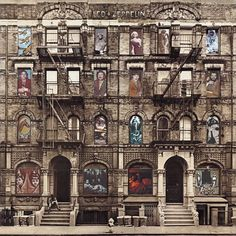 Physical Graffiti Hypergallery x Peter Corriston Led Zeppelin album cover art print. This is the only Zeppelin I have on vinyl Greatest Album Covers, Rock Album Covers, Classic Album Covers, Music Album Covers, Music Albums, Pop Albums, Music Music, Led Zeppelin Album Covers, Led Zeppelin Albums