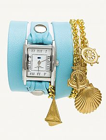 just recently discovered la mer watches... i'm in love.  especially the gold and silver together