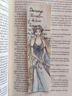 Daenerys Targaryen Bookmark  Game of Thrones di LovemadeShop