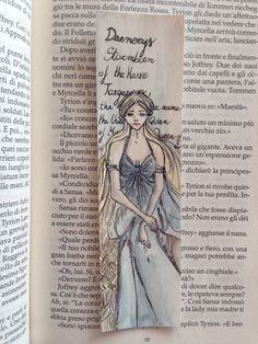 Daenerys Targaryen Bookmark  Game of Thrones di LovemadeShop