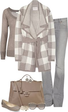"""Comfy Cardigan"" by partywithgatsby on Polyvore"
