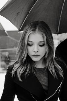 Chloe Grace Moretz lips, nose, eyes, eyebrows and hair