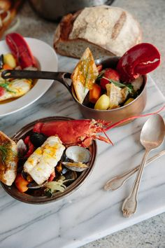 Lobster dinner: http://www.stylemepretty.com/living/2014/11/15/10-ways-to-make-the-most-of-your-bubbly/