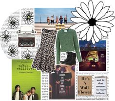 """Perks of Bring a Wallflower"" by liz-the-unicorn ❤ liked on Polyvore"