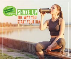 Morning workouts are a great way to kick-start your day and get your blood pumping. Shake up the way you start your day. Who's with us? #MyHerbalifeBreakfast #GetFit
