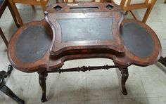 Victorian Tilt Top Writing Desk