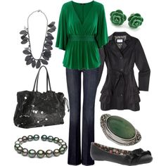 Green for the Emerald Isle, Happy St. Paddy's Day! (created by lagu)