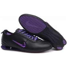 buy popular 70bfb 57e17 Nike Shox R3 9002 Plating hook Black Purple Women Shoes 79.59 Nike Shox  Rivalry, Nike