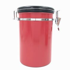 Jar Storage, Storage Organization, Coffee Canister, Fresh Coffee, Canisters, Home Improvement, Stainless Steel, Amazon, Riding Habit