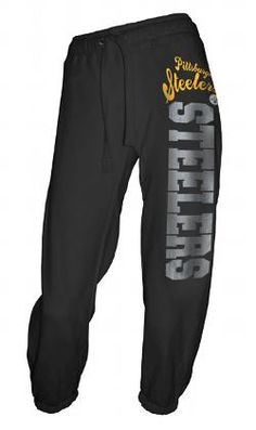 Ladies Black Capri Pant - Pittsburgh Steelers Merchandise b7722a959