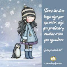 Todos los días tengo algo que aprender, algo que perdonar y muchas cosas que agradecer   ¡¡Que tengas un bonito día!!  @tiendagorjuss.com #gorjuss #frasesgorjuss #felizmartes #felizdia #frases #frasedeldia #tiendagorjuss
