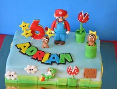 ... Super Mario Bros, decoración de tarta infantil ...