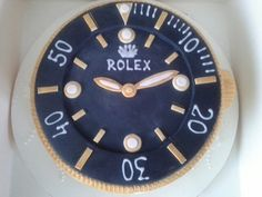 Rolex watch birthday cake - Top tip: Click pics for best price Birthday Wishes For Daughter, Birthday Presents For Girls, Birthday Cakes For Men, Husband Birthday, Mom Birthday Gift, Birthday Recipes, Birthday Dinner Menu, Happy Fathers Day Cake, Brithday Cake