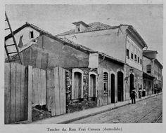 Rua Frei Caneca, antiga Rua do Conde, Rio de Janeiro. c. 1905 -  Rio de Janeiro - Brasil
