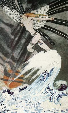 """Kay Nielsen """"East of the Sun and West of the Moon"""""""