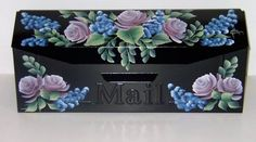 """hand painted mailboxes 