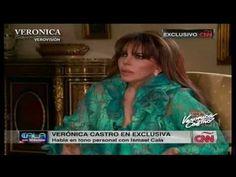 Verónica Castro: Entrevista con Cala (1a parte) | Entrevista de Cala a Verónica Castro que se transmitió el 6 de Mayo de 2013 por CNN Latino.