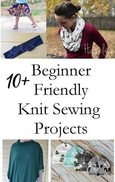 c16f468601 How to sew with knit fabrics beginner friendly patterns Serger Projects