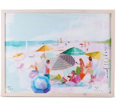 Coastal Dream Limited Edition Framed Art // artist Teil Duncan