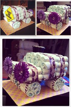 Diaper Cakes Jeep Jeep Diaper Cake, Diaper Cakes, Baby Shower Decorations, Party Planning, Shower Ideas, Gift Ideas, Gifts, Presents, Diaper Bouquet
