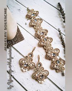 Soutache Bracelet, Soutache Jewelry, Boho Jewelry, Beaded Jewelry, Handmade Jewelry, Beaded Necklace, Jewellery, Shibori, Emo Dresses