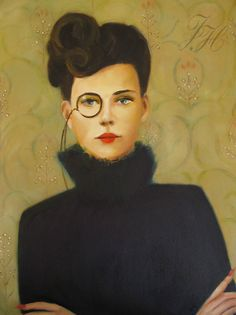 Janet Hill | Glamorous | Chic | Oil Paintings
