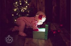 First Christmas picture idea