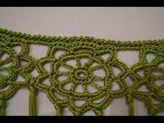 como hacer un manton de crochet, unir rosetas - YouTube